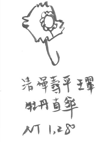 清 惲壽平 王翬 牡丹-直傘