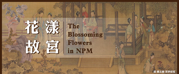 花漾故宮 The Blossoming Flowers in NPM