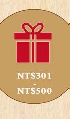 NT$301- NT$500
